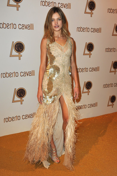 Natalia Vodianova attends the Roberto Cavalli party at Les Beaux-Arts de Paris as part of the Paris Fashion Week Ready To Wear S/S 2011 on September 29, 2010 in Paris, France.
