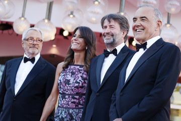 """Roberto Cicutto Alberto Barbera """"Madres Paralelas"""" Red Carpet And Opening Ceremony - The 78th Venice International Film Festival"""