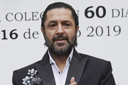 Rafael Amargo attents the fashion show presentation of Argentinian designer Roberto Piazza at Argentina Embassador's residence on May 16, 2019 in Madrid, Spain.