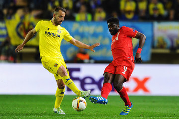 Roberto Soldado Villarreal CF v Liverpool - UEFA Europa League Semi Final: First Leg