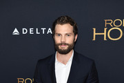 "Jamie Dornan attends the ""Robin Hood"" New York screening at AMC Lincoln Square Theater on November 11, 2018 in New York City."