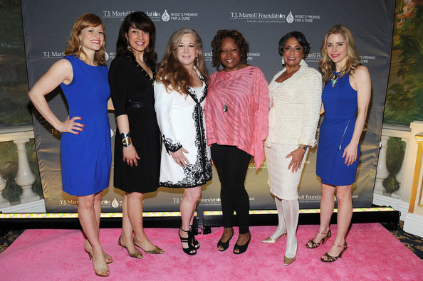 Arrivals at the Women of Influence Awards [event,fashion,dress,pink,premiere,leisure,party,flooring,carpet,fashion design,arrivals,robin quivers,randi rahm,megan sikora,sharon dastur,cathy hughes,kerry butler,l-r,t.j.,martell foundations women of influence awards]