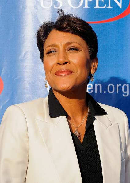 robin roberts hairstyle on Robin Roberts Television Personality Robin Roberts Attends The 2011 Us