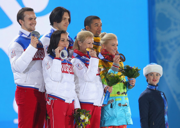 Winter Olympics: Medal Ceremony