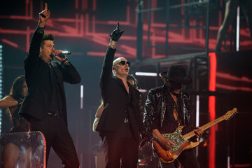 Robin Thicke The 58th GRAMMY Awards - Show