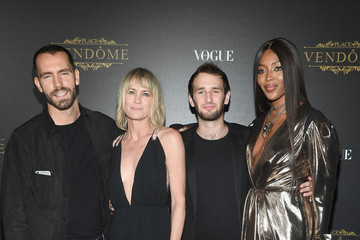 Robin Wright Vogue Party Arrivals - Paris Fashion Week Womenswear S/S 2018