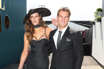 Robyn Lawley Celebrities Attend Derby Day