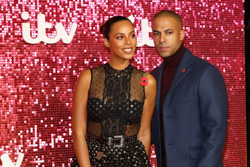 Rochelle Humes ITV Gala - Red Carpet Arrivals