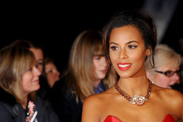 Rochelle Humes Arrivals at the National Television Awards