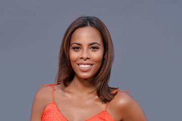 Rochelle Humes F1 Live in London Takes Over Trafalgar Square - Backstage