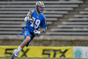 Kevin Drew #19 of the Charlotte Hounds during their game against the Rochester Rattlers at American Legion Memorial Stadium on April 12, 2015 in Charlotte, North Carolina.
