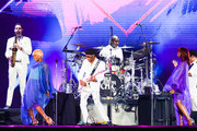 Nile Rodgers & Chic perform on stage at Rock in Rio 2019 - Day 4 at Cidade do Rock on October 03, 2019 in Rio de Janeiro, Brazil.
