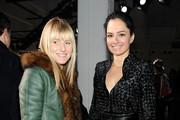 Editor-In-Chief of Teen Vogue Amy Astley and Dr. Lisa Airan attend the Rodarte fall 2012 fashion show during Mercedes-Benz Fashion Week on February 14, 2012 in New York City.