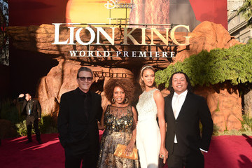 Roderick Spencer Alfre Woodard The World Premiere Of Disney's 'The Lion King'