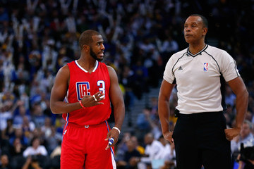 Rodney Mott Los Angeles Clippers v Golden State Warriors