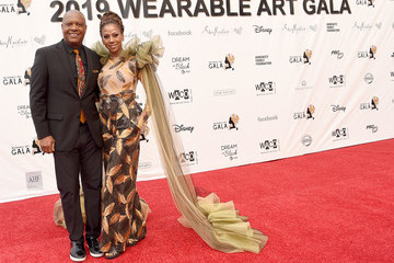 Rodney Peete Holly Robinson Peete WACO Theater Center's 3rd Annual Wearable Art Gala - Arrivals