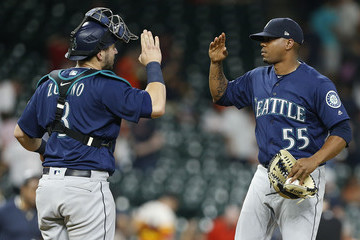 Roenis Elias Seattle Mariners vs. Houston Astros
