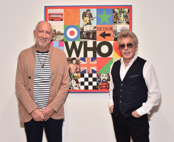 Pete Townshend And Roger Daltrey Designed New Album Cover At PACE Gallery