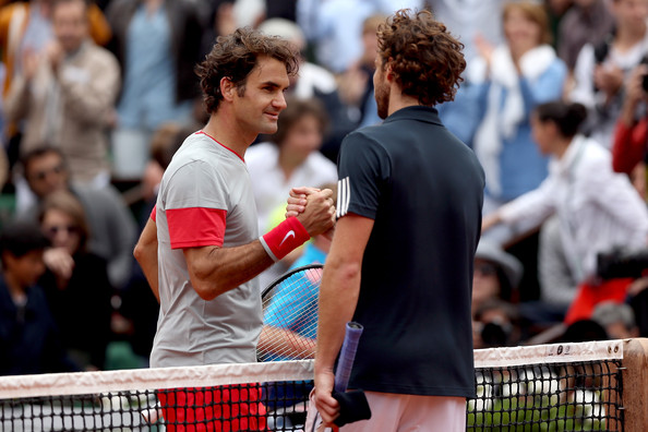 Roger+Federer+2014+French+Open+Day+Eight