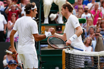 Roger Federer Andy Murray Day Eleven: The Championships - Wimbledon 2015