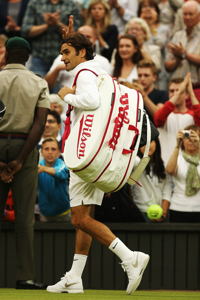 Roger+Federer+Day+Six+Championships+Wimb