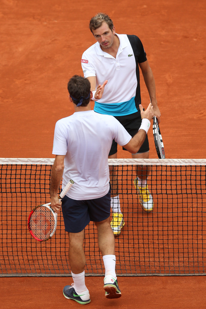 Roger Federer - French Open: Day 6