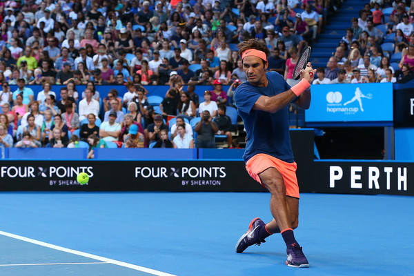 Roger Federer Sets Attendance Record During Comeback Win At The Hopman Cup