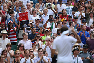 Roger Federer Day Four: The Championships - Wimbledon 2015