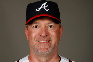 Roger McDowell Atlanta Braves Photo Day