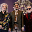 Roger Taylor Queen Holds Press Conference In Seoul