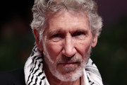 """Roger Waters walks the red carpet ahead of the """"Roger Waters Us + Them"""" screening during the 76th Venice Film Festival at Sala Grande on September 06, 2019 in Venice, Italy."""