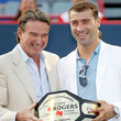 Jimmy Connors and Eugene Lapierre Photos