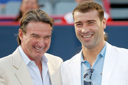 Jimmy Connors and Eugene Lapierre Photos Photo