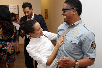 Rohan Marley The Hoerle Guggenheim Gallery for Jan Larsen, 'Market Makers' 'When Art and Business Overlap' Hosted by Claudia Avendano