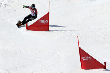 Roland Fischnaller Snowboard - Winter Olympics Day 15