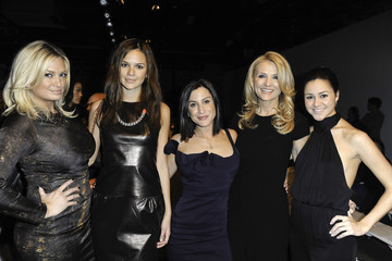 Jacquelyn Sherry Coombe Rolando Santana - Front Row - Fall 2012 Mercedes-Benz Fashion Week