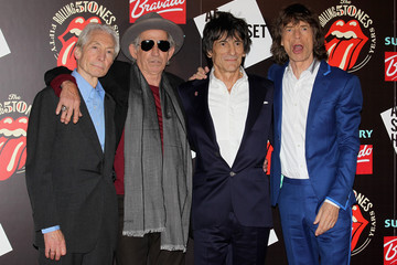 Mick Jagger Charlie Watts The Rolling Stones: 50 - Private View