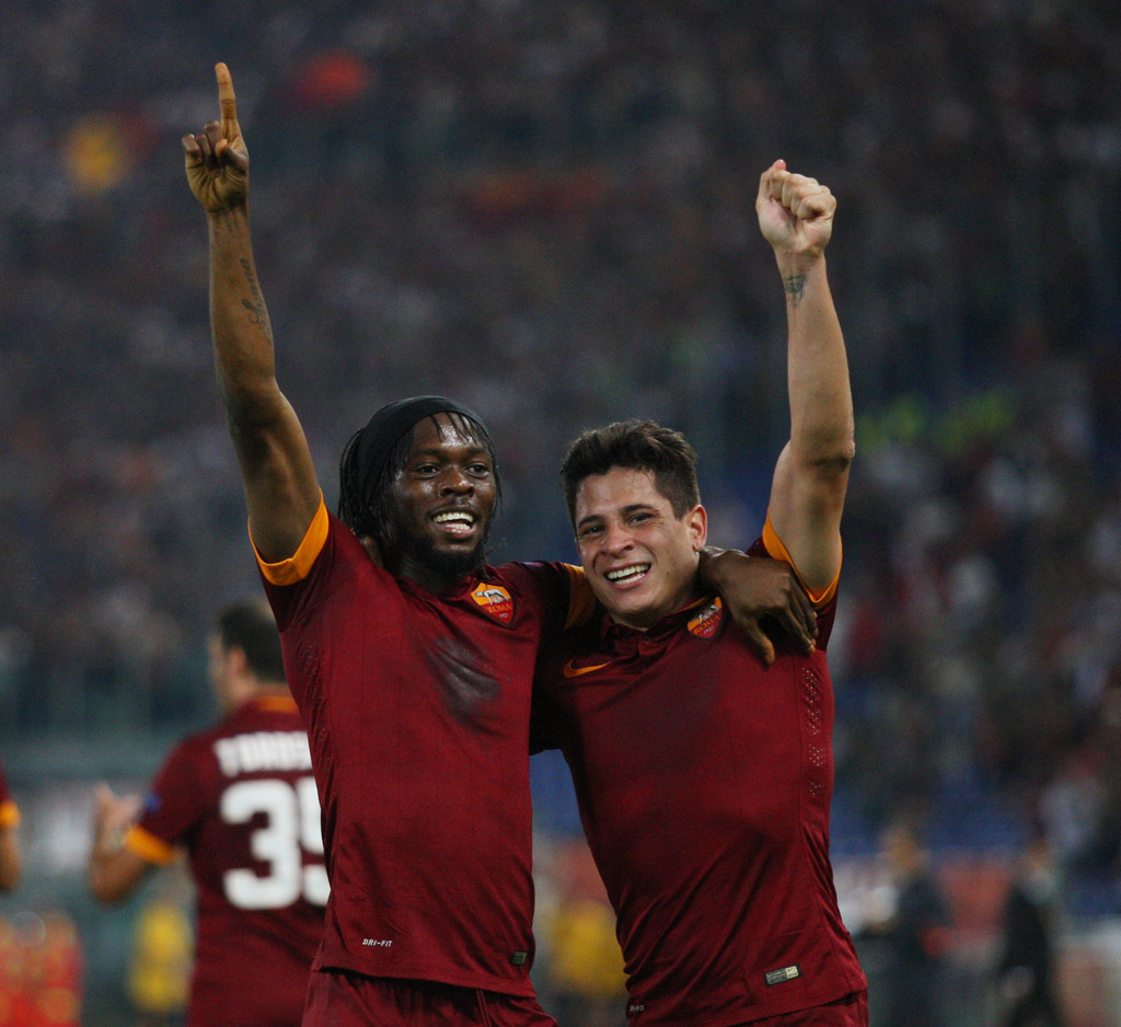 UEFA Champions League: AS Roma 5-1 CSKA Moscú. (Fotos)