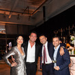 Romain Zago Haute Living Honors Miami's Haute 100 List At Brickell City Centre With Special Guest Alonzo Mourning