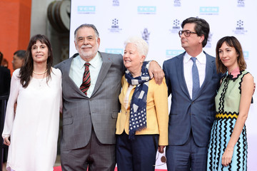 Roman Coppola TCM Honors Academy Award Winning Filmmaker Francis Ford Coppola With Hand/Footprint Ceremony at TCL Chinese Theatre IMAX