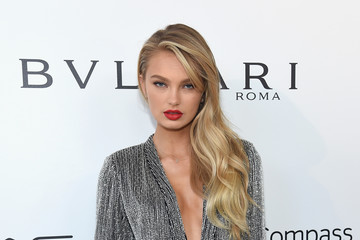 Romee Strijd 26th Annual Elton John AIDS Foundation Academy Awards Viewing Party sponsored by Bulgari, celebrating EJAF and the 90th Academy Awards - Red Carpet