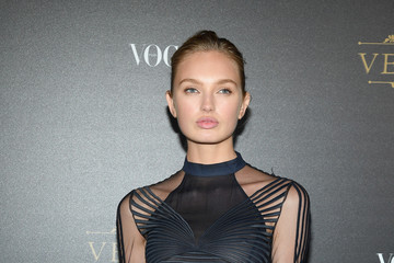 Romee Strijd Vogue Party Arrivals - Paris Fashion Week Womenswear S/S 2018