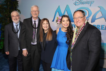 Ron Clements The World Premiere of Disney's 'Moana'