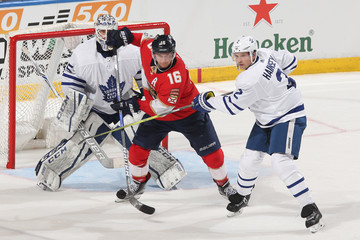 Ron Hainsey Toronto Maple Leafs vs. Florida Panthers