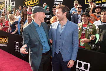 Ron Howard Alden Ehrenreich Premiere Of Disney Pictures And Lucasfilm's 'Solo: A Star Wars Story' - Red Carpet