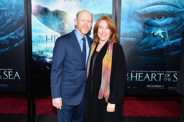 Ron Howard Cheryl Howard 'In the Heart of the Sea' New York Premiere - Inside Arrivals