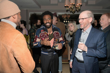 Ron Howard Donald Glover Esquire Celebrates March Issue's 'Mavericks of Hollywood' Presented by Hugo Boss