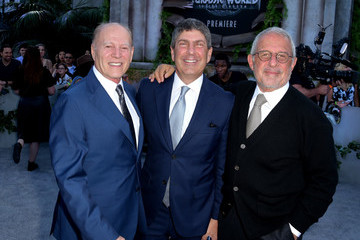 Ron Meyer Jeff Shell Premiere Of Universal Pictures And Amblin Entertainment's 'Jurassic World: Fallen Kingdom' - Red Carpet