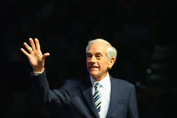 Ron Paul Ron Paul Holds Rally On Eve Of The Republican National Convention