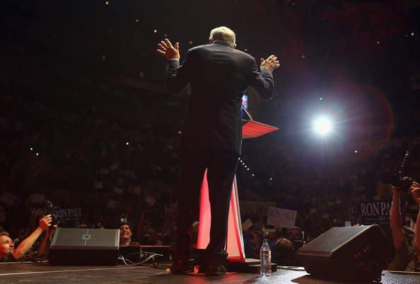 Ron Paul Holds Rally On Eve Of The Republican National Convention
